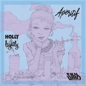 Image of HOLLY FLO LIGHTLY - APERITIF EP (HAND NUMBERED & SIGNED CD)