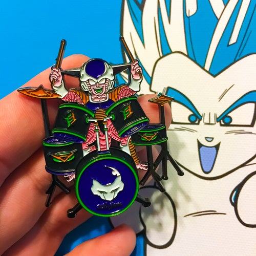 Image of The Cold Drummer Pin