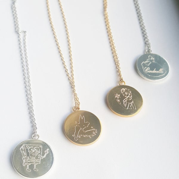 Image of Character Necklace