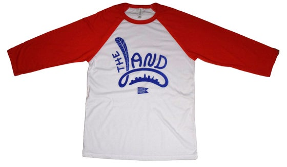 Image of The Land 3/4 Sleeve Baseball Tee