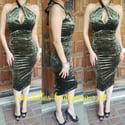 Envy Olive Dress