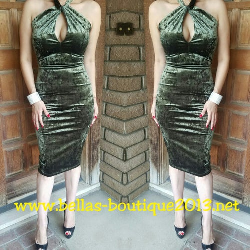 Image of Envy Olive Dress
