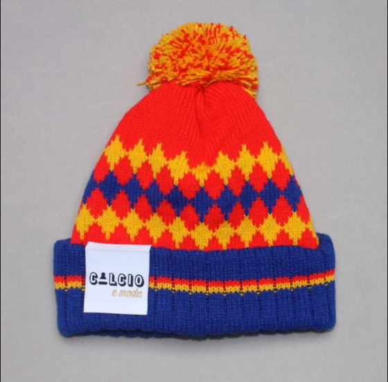 Image of SPAIN BOBBLE HAT