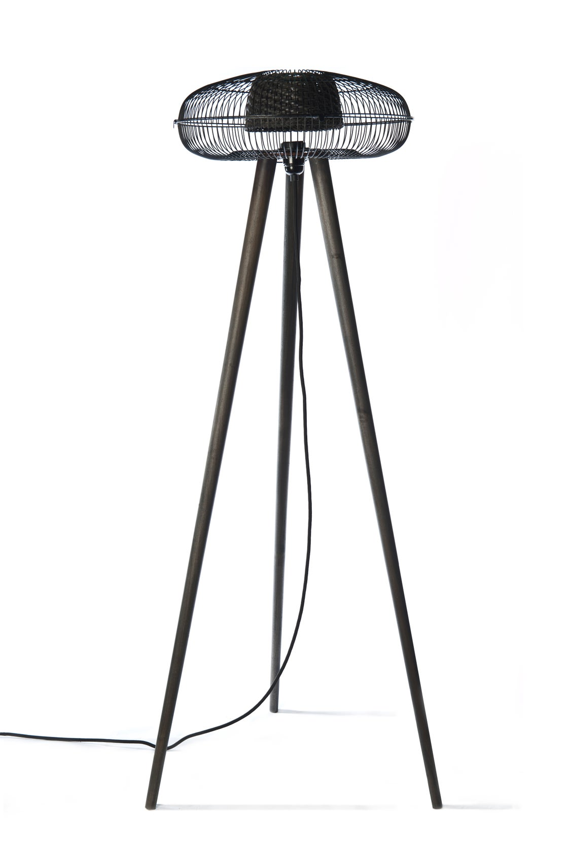 Image of FAN floor lamp~ Black