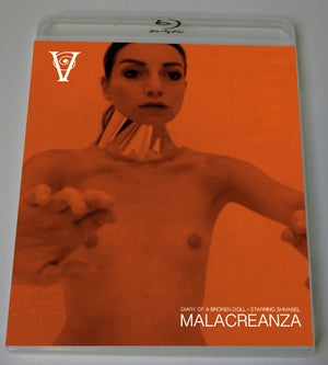 Image of MALACREANZA - BLU-RAY-R + DVD (HD COLLECTION #5) Signed and Stamped, Limited 50