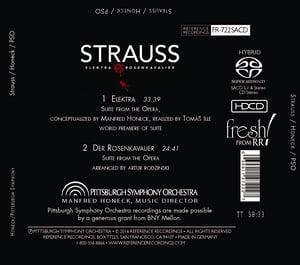 Image of Strauss: Elektra and Der Rosenkavalier