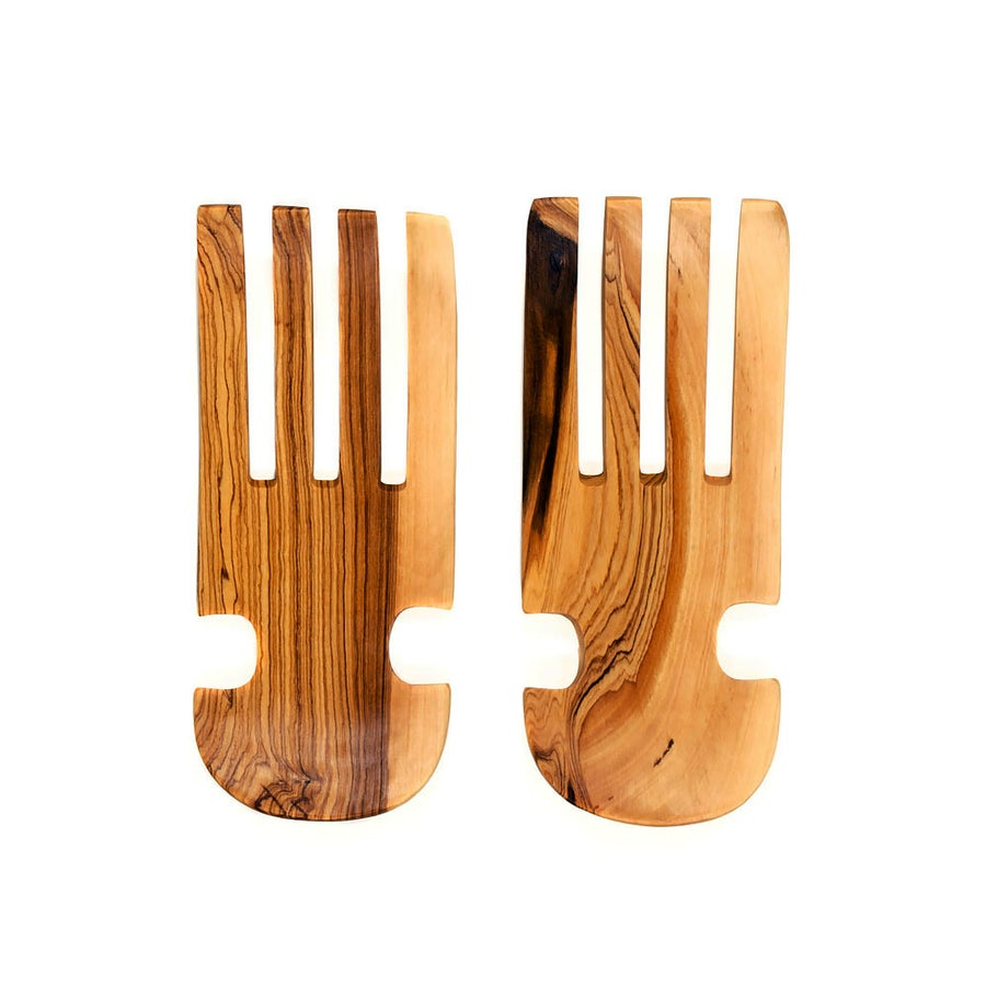 Image of Olive Wood Salad Claws