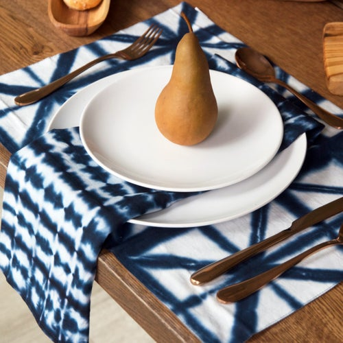Image of Indian Shibori Napkins