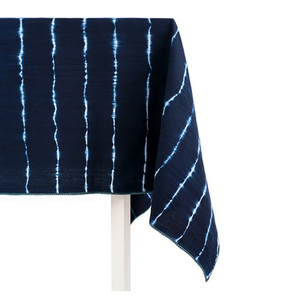 Image of Indian Shibori Tablecloth