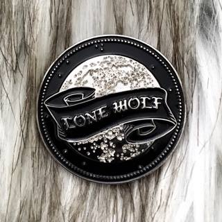 Image of Lone Wolf Pin