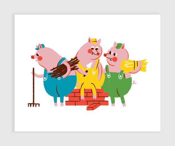 Image of Three Little Pigs