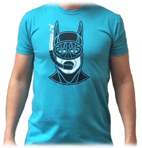 Image of Snorkeling Batman - Bondi Blue