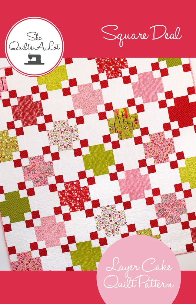 Image of Square Deal PDF Pattern