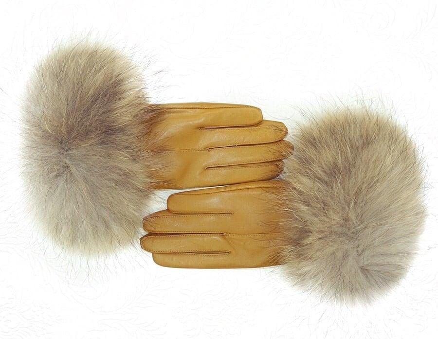 Teen penis fur glove 6