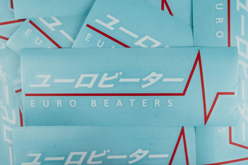 Image of Eurobeaters Original Club Sticker