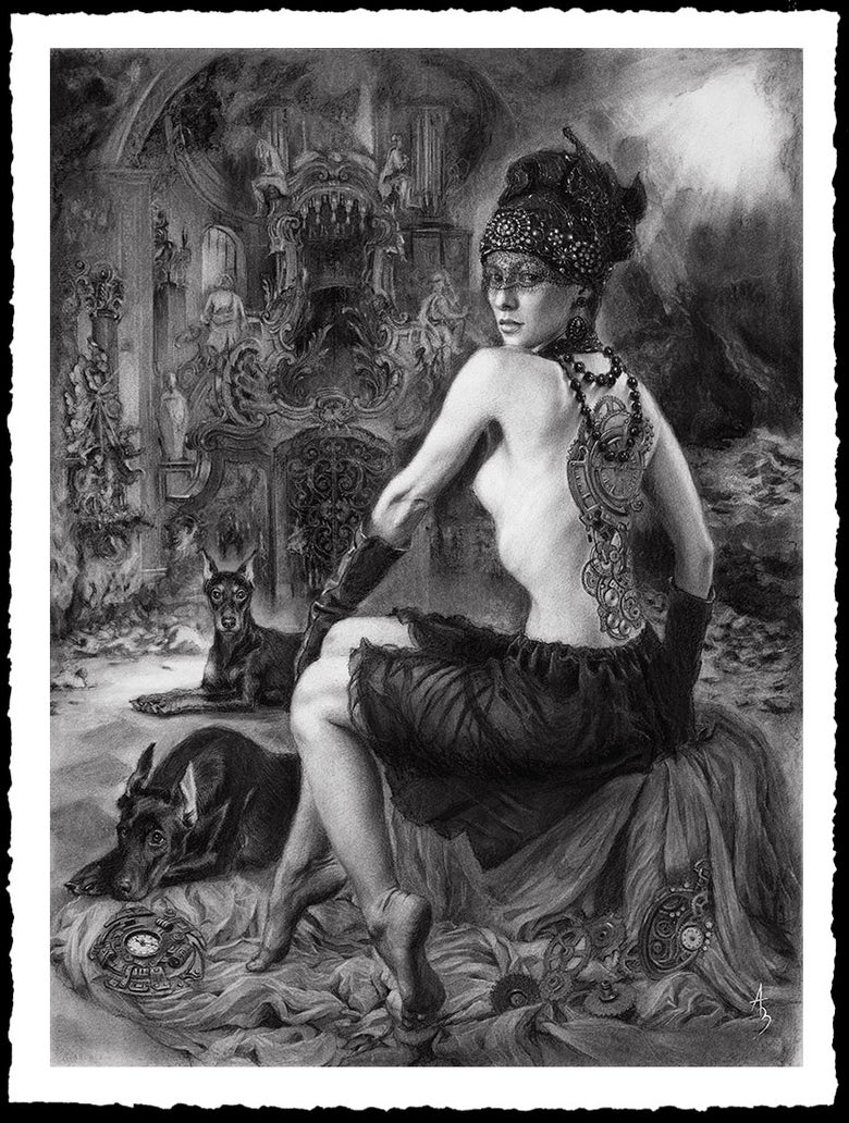 Image of Alexandra Manukyan 'Time Keepers'  Giclée Fine Art Print