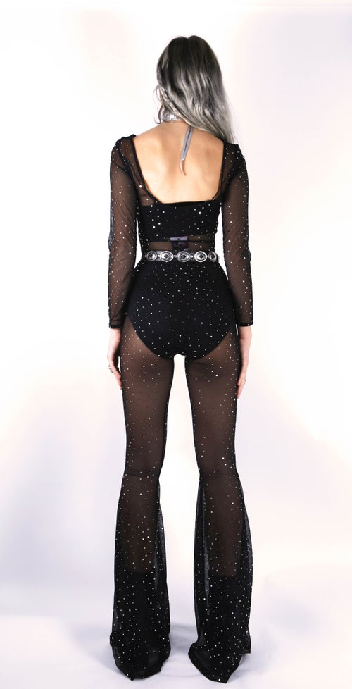 Image of Bebe Jumpsuit - GLITTER
