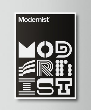 Image of Modernist (Black)