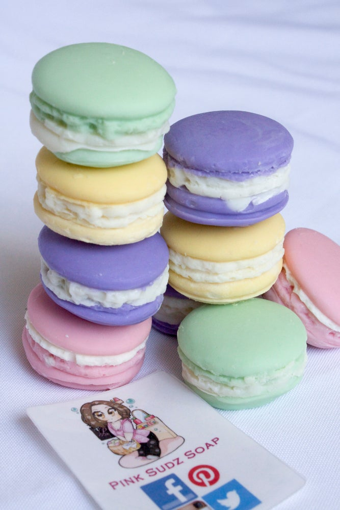 Image of Soap Macarons