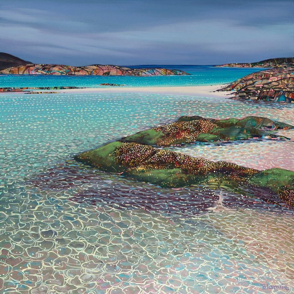 Image of Sanna bay glistening print