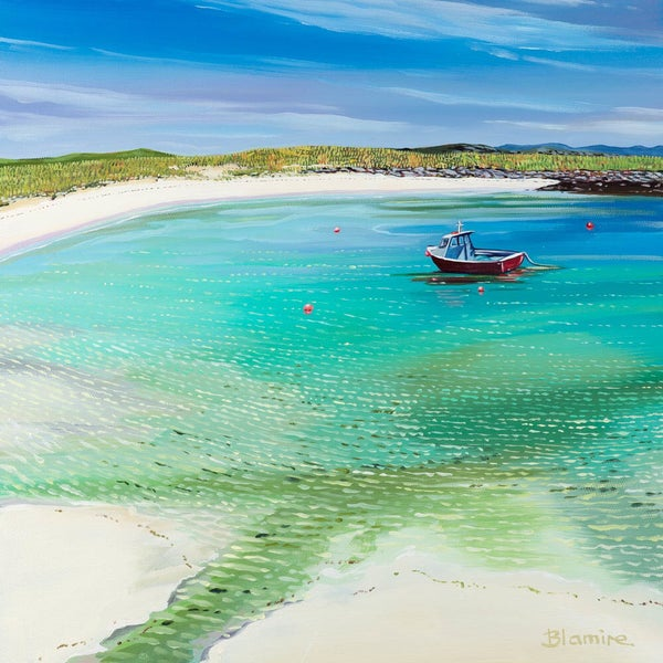 Image of Tiree boat small print