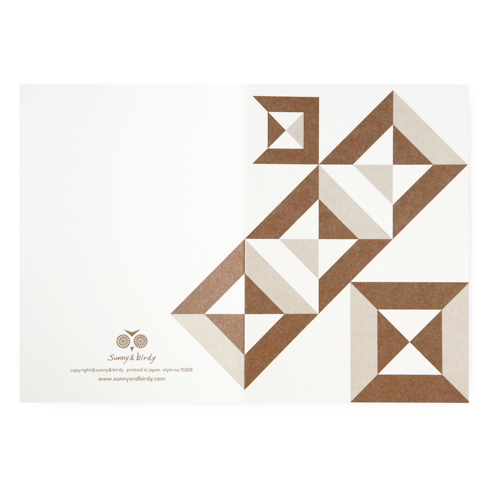 Image of Single card - tsumiki