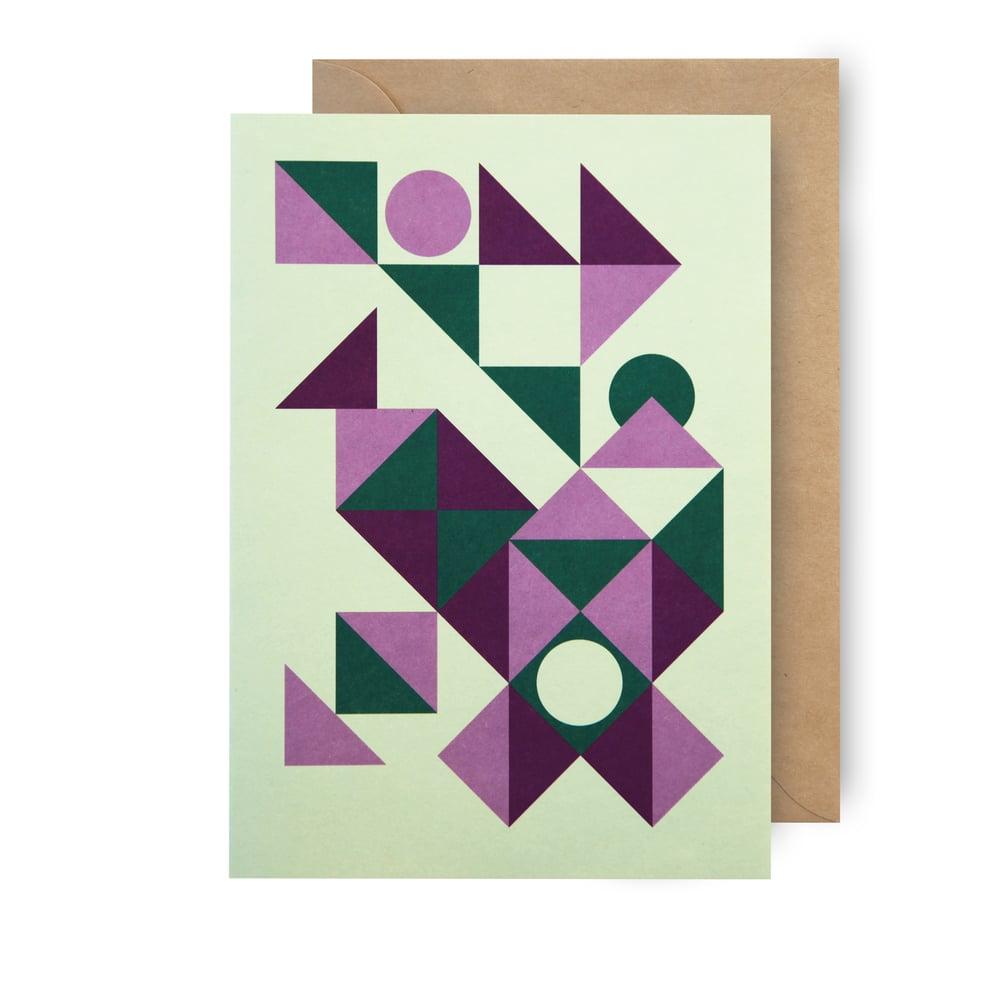 Image of Single card - pueblo