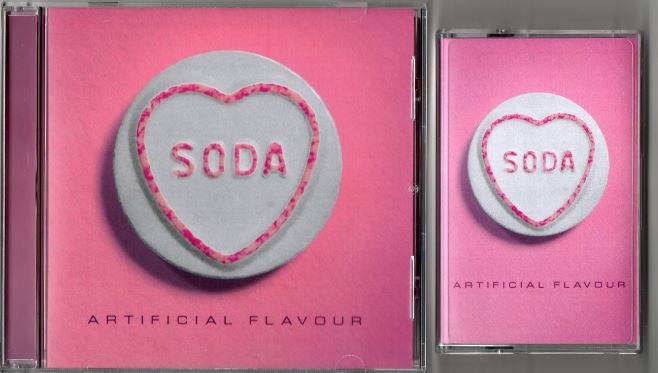 Image of Artificial Flavour Cd + Tape bundle (ltd)