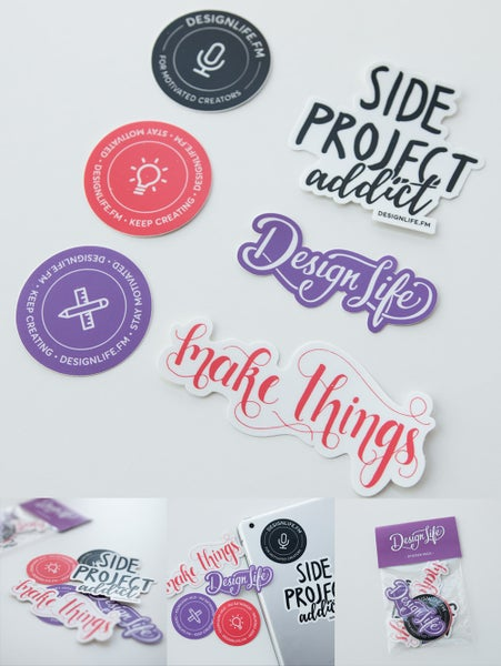 Image of Design Life – Sticker Pack