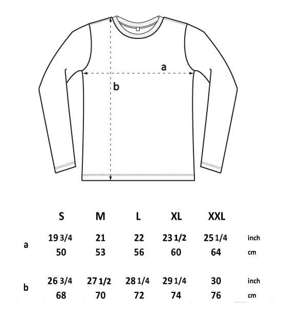 Image of Blackstag Ripper long sleeve black cotton t-shirt