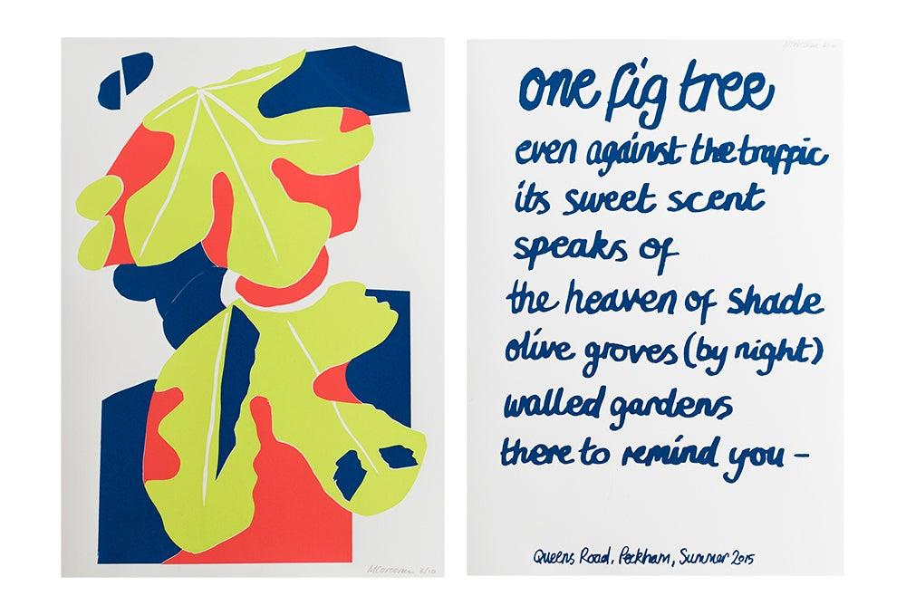 Image of Queens Road Peckham Screen print (diptych)