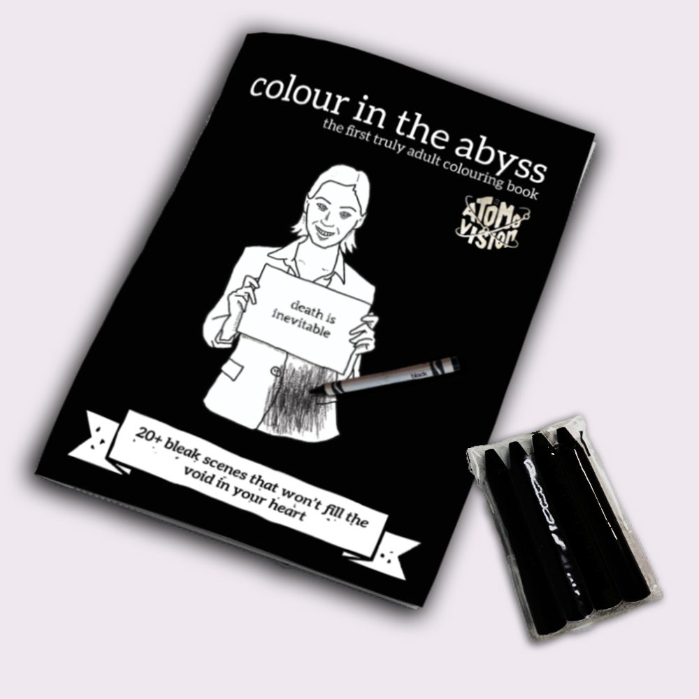 Image of Colour In The Abyss - Colouring Book