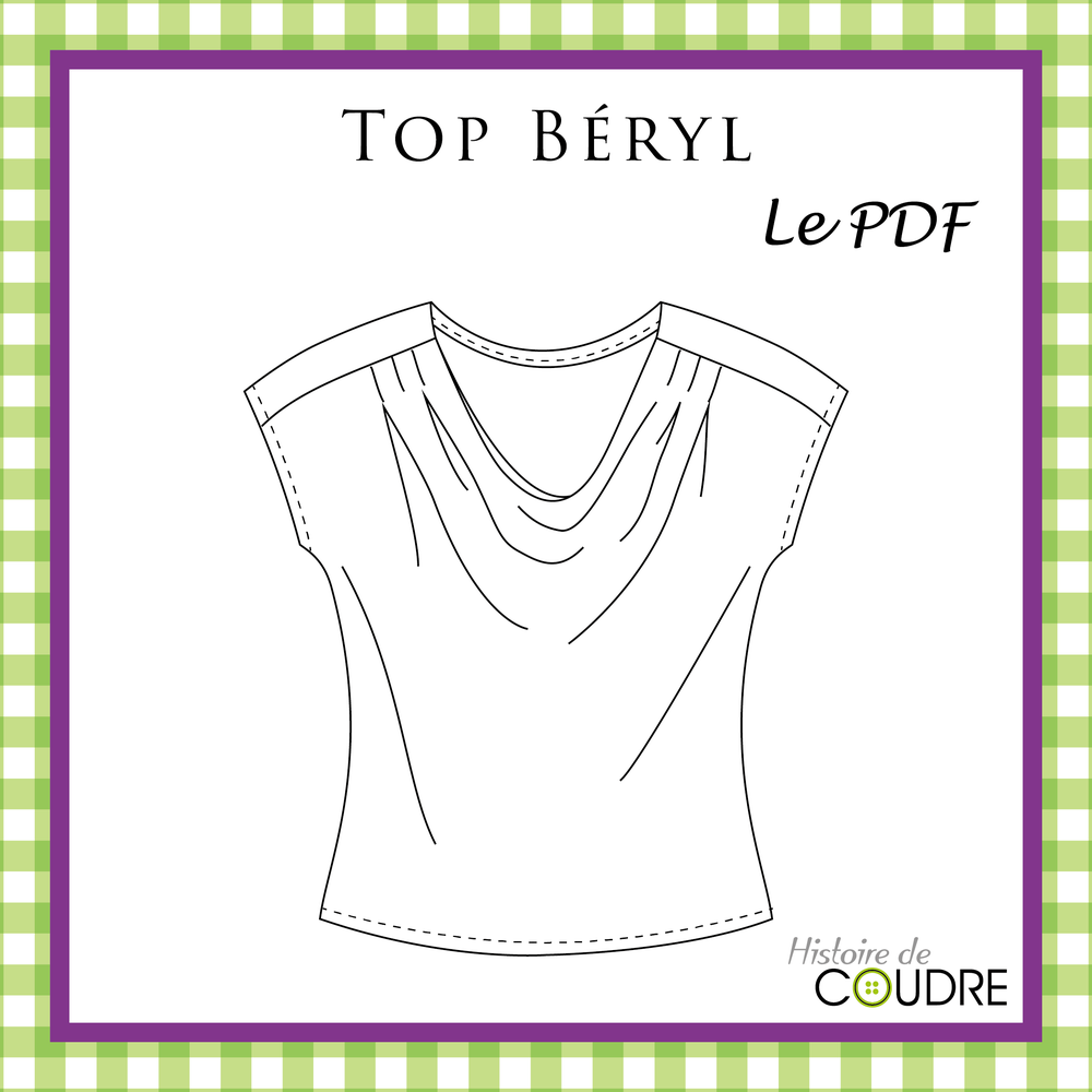 Image of Top Béryl - Patron PDF