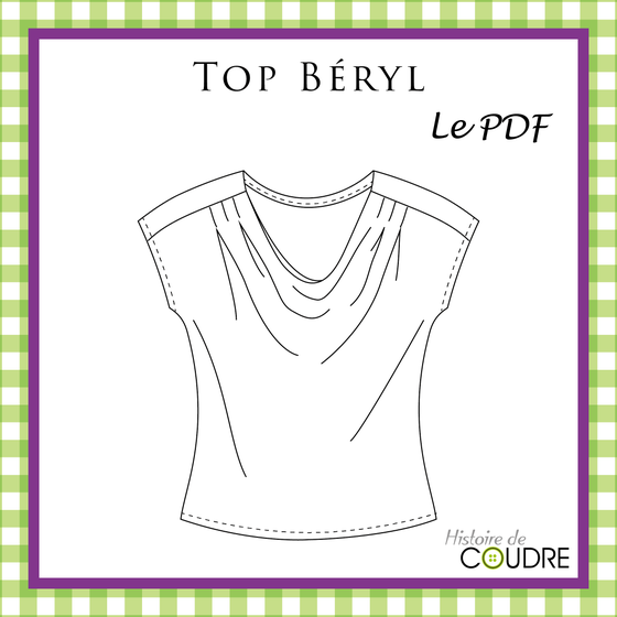 Image of Top Béryl - Patron PDF