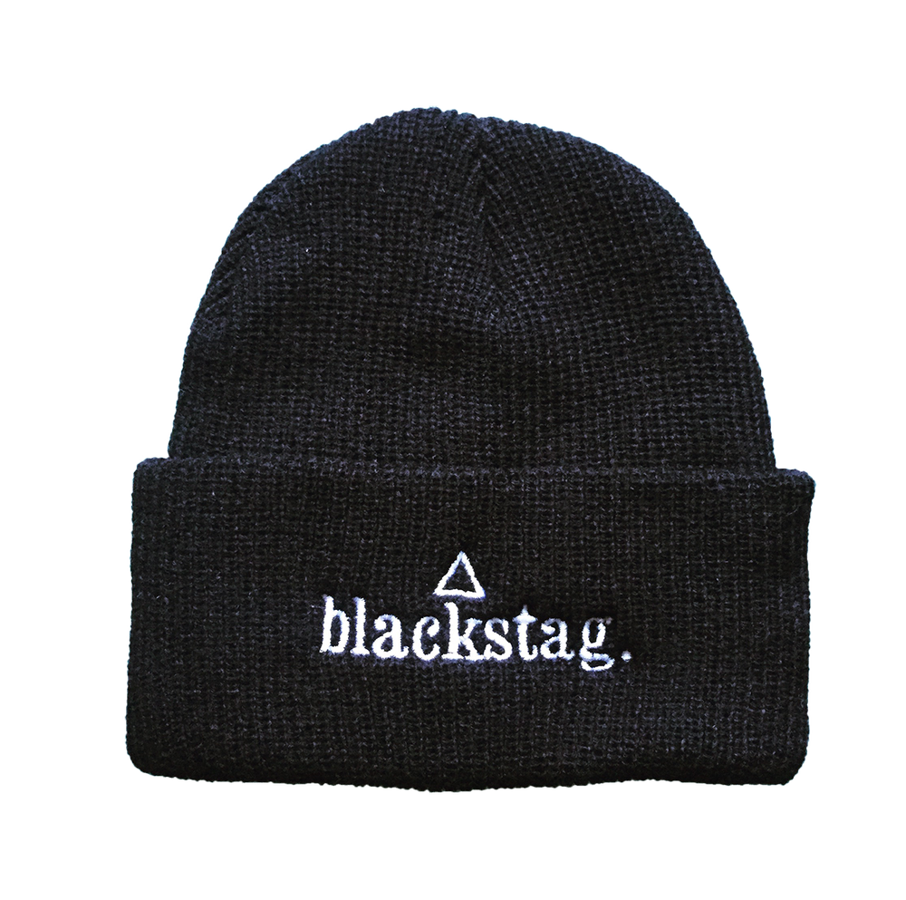 Image of Knitted Blackstag Beanie hat
