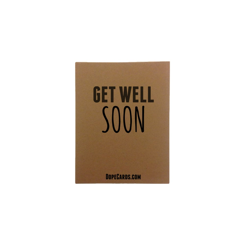 Image of Get well soon (4 pack)