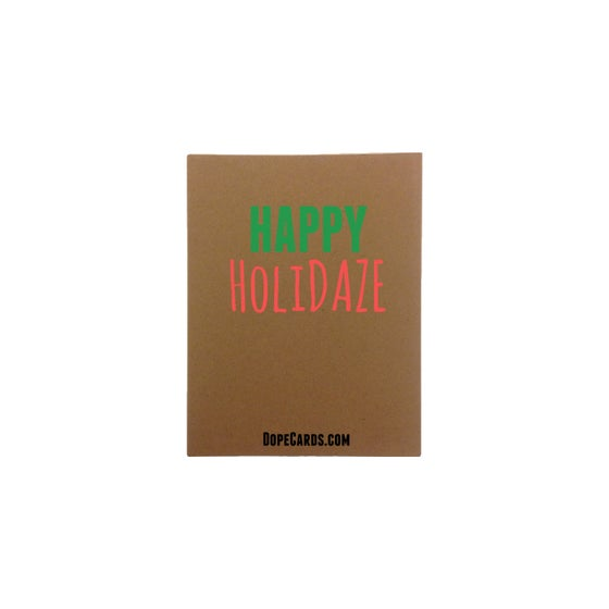 Image of The Holidaze Card (4 cards)