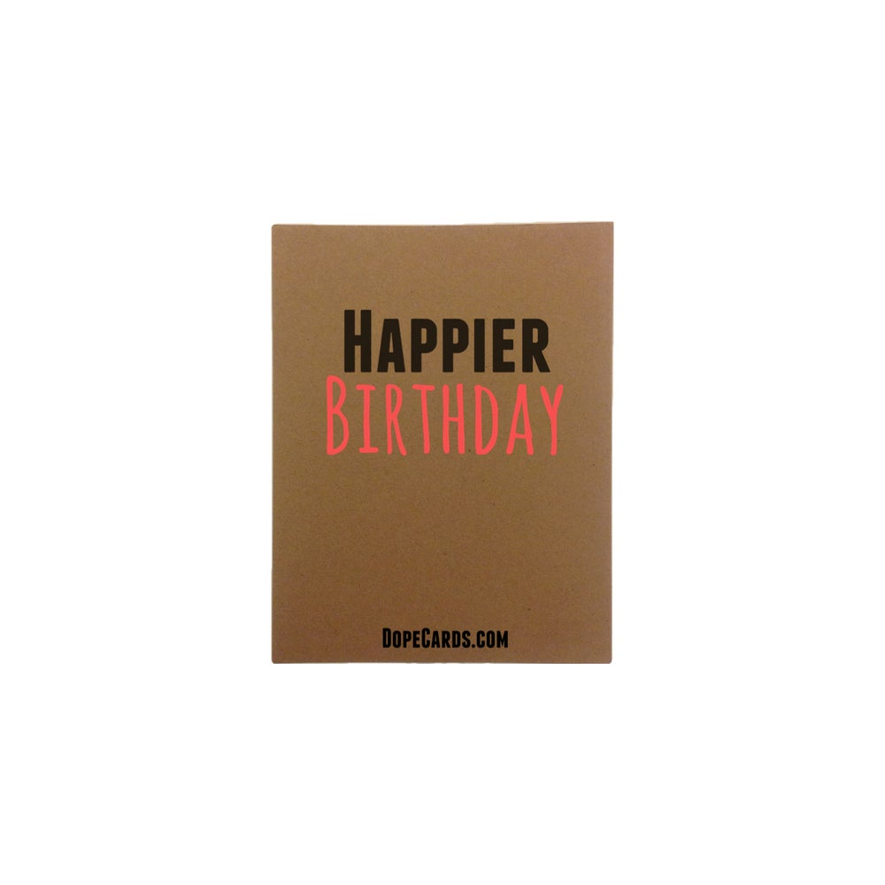 Image of Happier BIRTHDAY! (4 cards)