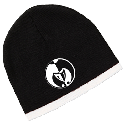 Image of Black and White Legacy Seal Beanies