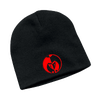 Red on Black Legacy Seal Beanie