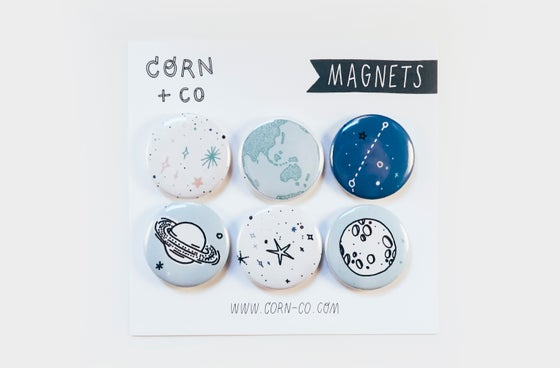 Image of Planets Magent Set