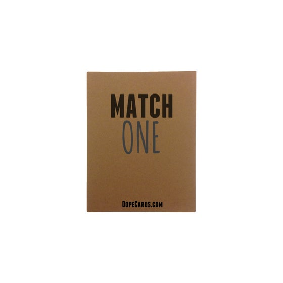 Image of Match one (6 cards)