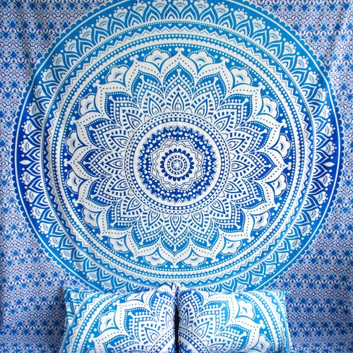Image of Blue Ombre Doona Set-Marked down from $110, NOW