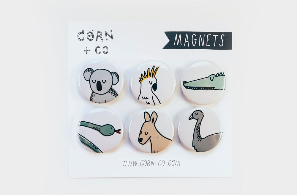 Image of Aussie Animals Magnet Set