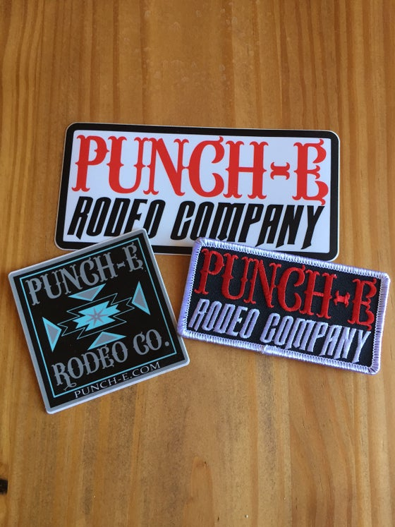 Image of Patch and sticker kit