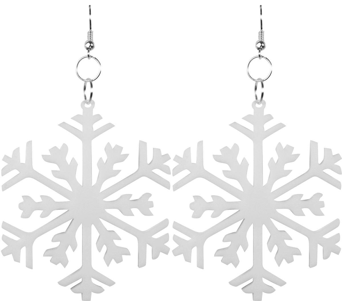 Image of Snowflake Earrings