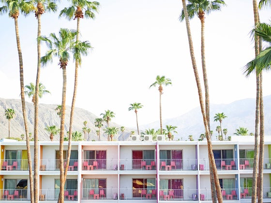 Image of palm springs hotel