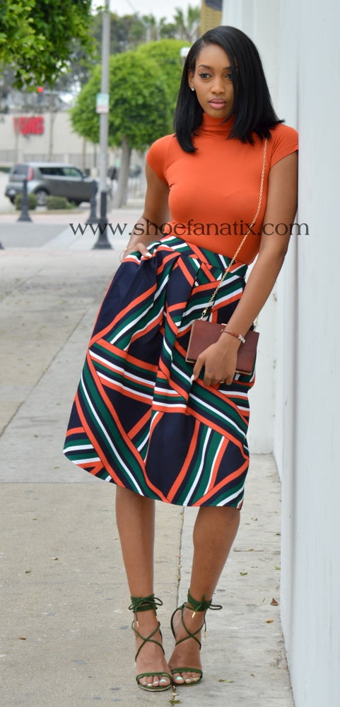 Image of KELCE FLARE SKIRT