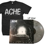 "Image of ACHE ""Fade Away"" LP Vinyl and Shirt"