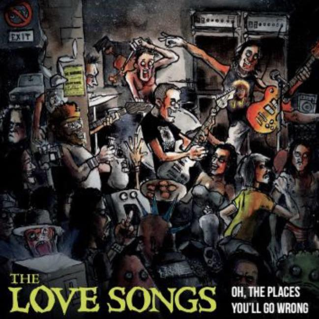 "Image of ""Oh, the Places You'll Go Wrong"" The Love Songs LP - vinyl"